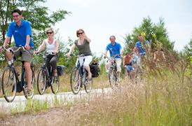 Ontdek de Kempen cycle route passing lakes and dunes - shortened route 32.1 km.