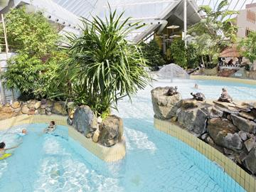 Subtropical swimming pool Sunparks Kempense Meren