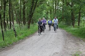 Fietslus Ontdek de Kempen - cycle route passing lakes and dunes - basic route 69.8 km.