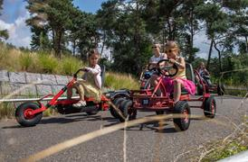 Go-kart course and electric mini cars at Zilvermeer