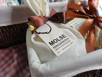 Molse Zandzakskes chocolates