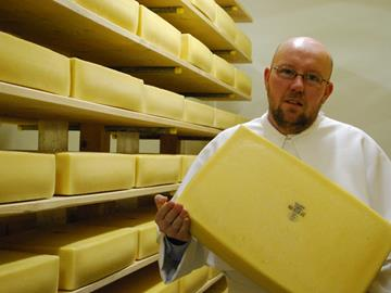 Postel hard abbey cheese, a recognised regional product