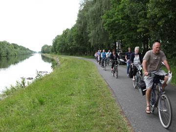 Ontdek de Kempen cycle route passing lakes and dunes - shortened route 47.9 km.