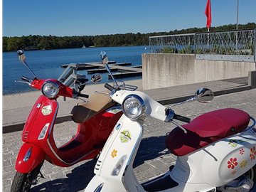 Go on a culinary Vespa tour through beautiful Mol