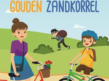 Children's bicycle tour with assignments